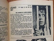Aug-1975 TV Guide (ELIZABETH MONTGOMERY/LIZZIE BORDEN/DONNA DOUGLAS/RALPH  WAITE