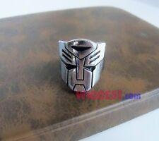 Transformers Autobot Logo Metal Ring US Size 9