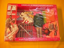 RARE 1970 GIJOE ADV TEAM 1ST ISSUE WHITE TIGER HUNT 7436 WINDOW BOX MIB 1964