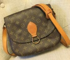 Authentic LOUIS VUITTON Vintage Monogram Saint St Cloud Shoulder Crossbody Bag