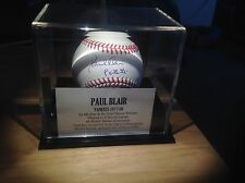 Paul Blair Autographed Baseball - Inscription: '8x GG' w/ Case and COA
