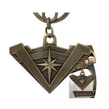 DC Comics NEW * Wonder Woman Tiara Key Chain * Pewter Logo Key Chain Clip Shield