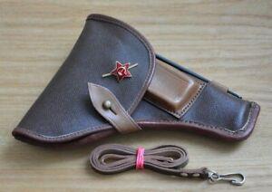 ✅ 🔥 USSR Original Tokarev TT-33 pistol belt holster cleaning rod & lanyard star