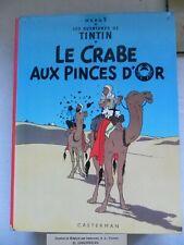 ancien album tintin hergé le crabe aux pinces d or 1966, casterman 12