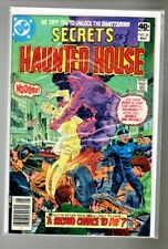 """vintage DC comic """" The SECRETS of HAUNTED HOUSE  # 24 """" bagged & boarded"""