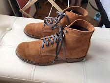 Wolverine Mens 1000 Mile Amber Suede Service Boots Made in Usa. With Box. Sz 8 D