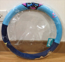 Disney Lilo & Stitch Doll Toys Car Accessories Steering Wheel Cover Seat Cover