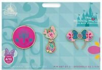 Minnie Mouse The Main Attraction Pin Set Small World #4 April Limited Release
