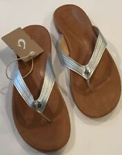 6318b79fa Leather Slip On Striped Sandals   Flip Flops for Women for sale