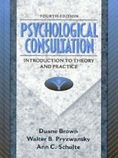 Psychological Consultation: Introduction to Theory and Practice