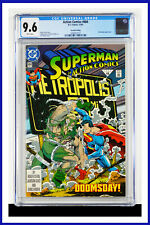 Superman #684 CGC Graded 9.6 DC December 1992 Second Printing Comic Book