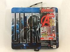 Marvel Avengers Age of Ultron 140 Pieces Deluxe Stationery and Art Craft Set New