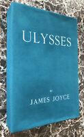 Ulysses, by James Joyce, Facsimile of 1922 Sylvia Beach First Edition