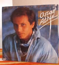 OSCAR ATHIE DESDE MUY HONDO MEXICAN LP CUT OUT LATIN POP