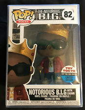 Pop! Rocks The Notorious B.I.G With Crown #82 Toy Tokyo Limited Edition With pp