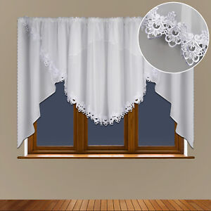 Schöne Fertiggardine aus Voile Gardine LB-5 Modern Fenstergardine Wohnzimmer