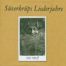 DIETER SÜVERKRÜP - SÜVERKRÜPS LIEDERJAHRE 1963-1985FF 4 CD NEU