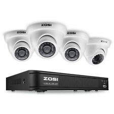 Security Camera System 1080P Wired DVR Kit HD IR CCTV Outdoor/Indoor NightVision