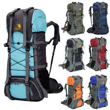 60L acampar al aire libre Bolsa De Viaje Mochila Senderismo Escalada Paquetes de 8 Colores