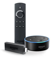 Amazon Fire TV Stick with Echo Dot - Black