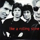 CD SINGLE promo THE ROLLING STONES like a rolling stone UK 1995 2-tracks