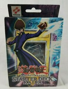 Yugioh Starter Deck Kaiba Unlimited Factory Sealed North American Yu-Gi-Oh