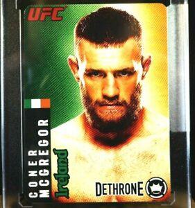 2013 Conor McGregor Rookie RC Mini Card UFC SBGi SEALED