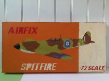 SALE !! Airfix Spitfire painting by well known artist illustrator Andy Bridge