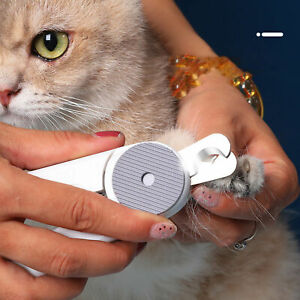 Nail Clipper Trimmer with Manicure File Labor-saving Durable Useful Pet Product