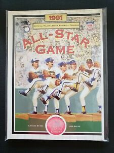 1991 MLB ALL-STAR GAME PROGRAM-NM-MINT..1ST ALL-STAR GAME PLAYED OUTSIDE U.S.