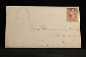 New Jersey: East Creek (#2) 1886 #210 Cover + Letter, DPO Cape May Co