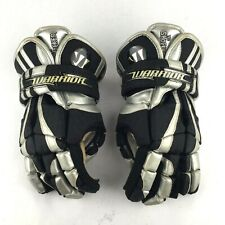 Warrior The Shocker 13� Lacrosse Gloves Black & Silver
