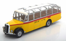1:43 Ixo Saurer L4C PTT Switzerland yellow/white/red