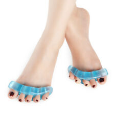 1 Pair Toes Orthotic Toe Straightener Silicone Gel Separator Hammer Bunion