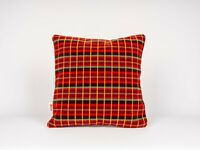 Cushion Made From London Transport  Routemaster Bus Moquette