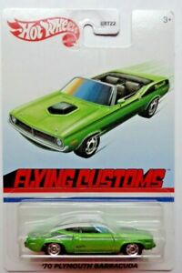2021 Hot Wheels FLYING CUSTOMS '70 Plymouth Barracuda (Target Exclusive)