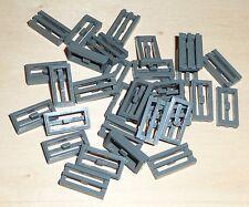 Gitter Fliese 1x2 schwarz 10 Stück »NEU« # 2412b Plättchen Lego Platte