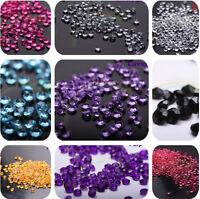5000pcs  Diamond Confetti Table Scatters Clear 4.5mm Wedding Party Decor