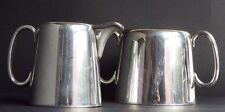 Cooper Brothers Sheffird Bros England silver electro plate Creamer & Sugar Bowl