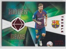 Panini 2018-19 Treble Hidden Gems Lionel Messi Barcelona 29/49