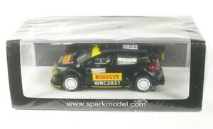 Citroen C3 No.21 Rally Sardegna 2020 Pirelli Tyres Test WRC 2021 (Petter Solberg