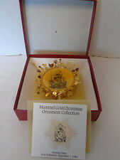 1988 Goebel Hummel Collectors Club Feeding Time Christmas Ornament
