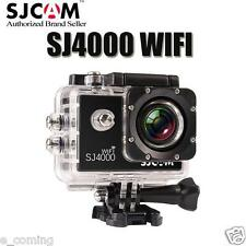 Pro SJ4000 WiFi Waterproof DV Action Sports Camera HD 1080P Camcorder BLACK
