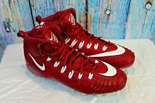 Nike Force Savage Pro Td Promo Football Cleats Red Men'S Size 16 (918346-617)
