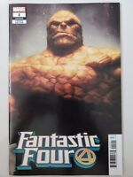 "FANTASTIC FOUR #1 (2018) MARVEL STANLEY ""ARTGERM"" LAU THING VARIANT COVER NM"