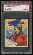 1933-34 National Chicle Sky Birds #029 Floyd Bennett PSA 7 NM Cert #16418650
