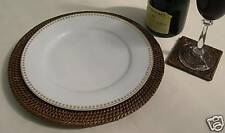 RATTAN ROUND CHARGER / UNDERPLATE / PLACEMAT