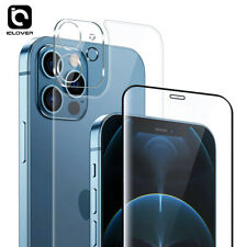 iPhone 12 Pro Max Full 9H Front Back Tempered Glass+Camera Lens Screen Protector