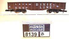 Z Scale Marklin Mini-Club 8139-B Dixie Line Gondola