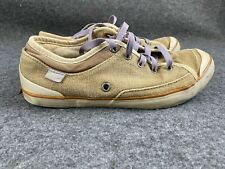 Simple Shoes Eco Hemp Canvas Sneakers 9243 Size Women's 8 Tan Organic Materials
